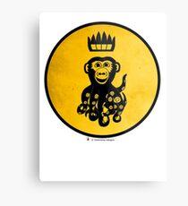 King Octochimp Says Hi Metal Print