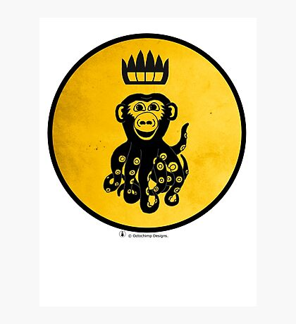 King Octochimp Says Hi Photographic Print