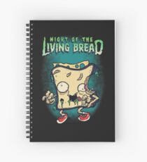 The Night of the Living Bread Spiral Notebook