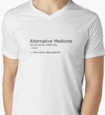 Alternative Medicine - definition Men's V-Neck T-Shirt