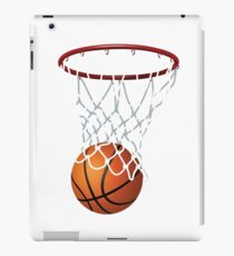 Basketball and Hoop Net iPad Case/Skin