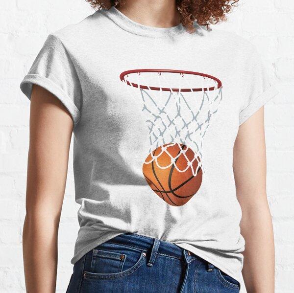 Basketball and Hoop Net Classic T-Shirt