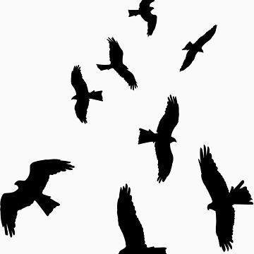 Nine Hawks by idep