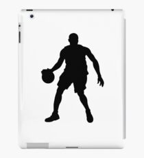 Basketball Player Silhouette 1 iPad Case/Skin