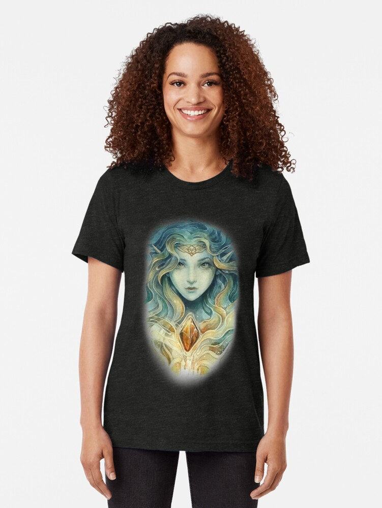 Alternate view of Snow queen Tri-blend T-Shirt