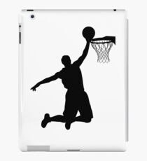 Basketball Player Silhouette 2 iPad Case/Skin