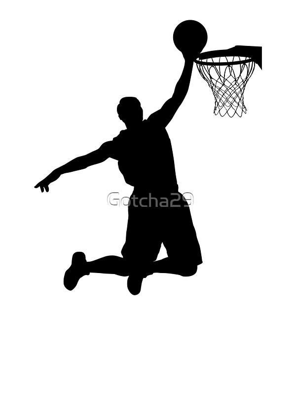 basketball player silhouette 2 by gotcha29