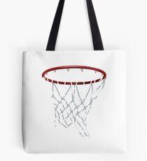 Basketball Hoop Net Tote Bag