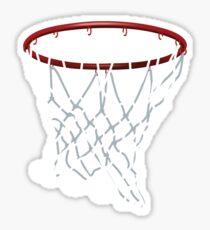 Basketball Hoop Net Sticker