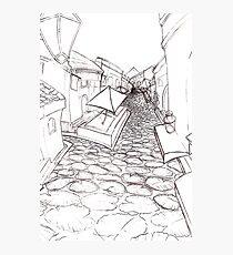 Sketch Photographic Print