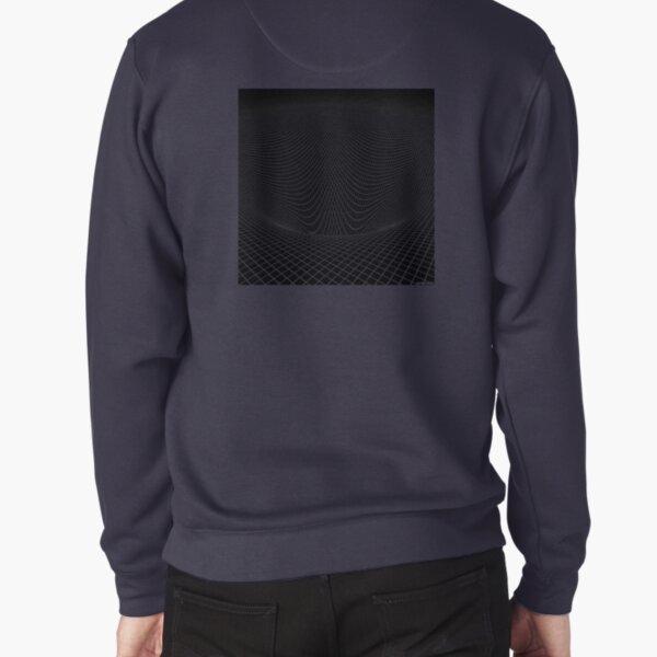 3d surface Pullover Sweatshirt