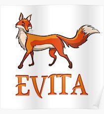 Evita Fox Poster