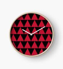 MAD AB-TAANIKO L-Red Clock
