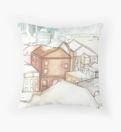 In the Big City Throw Pillow