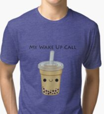 'My Wake up Call' Collection Tri-blend T-Shirt