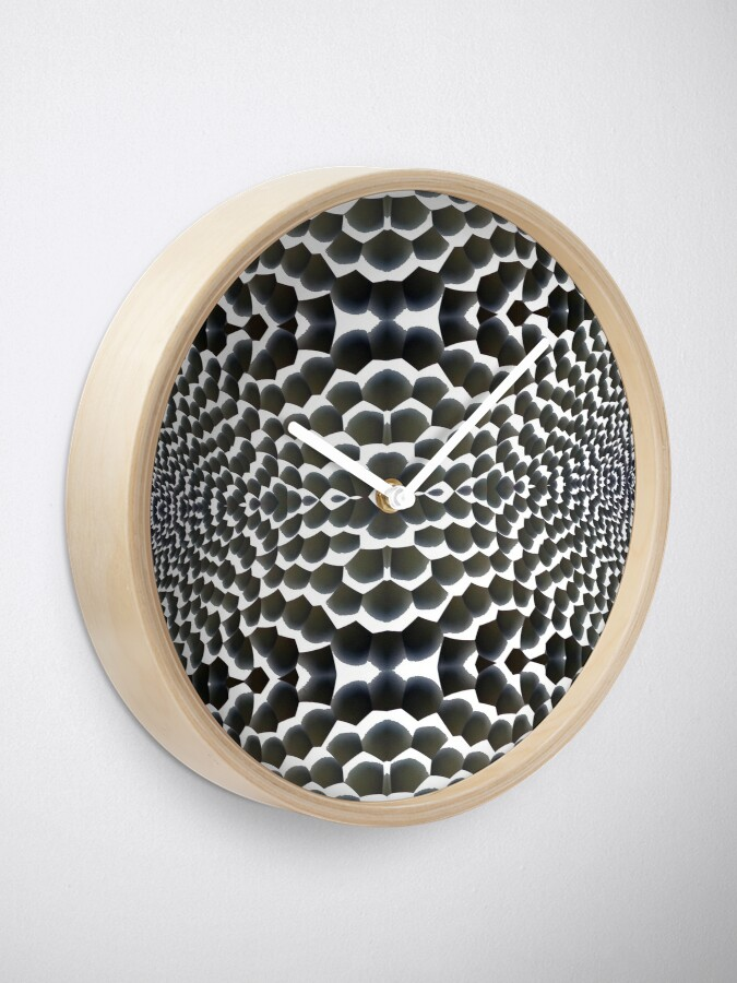 Alternate view of 3D Surface Clock