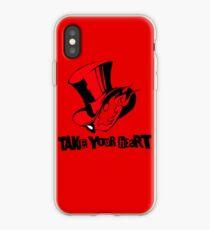 """""""Nehmen Sie Ihr Herz"""" Persona 5 Phone Case iPhone-Hülle & Cover"""