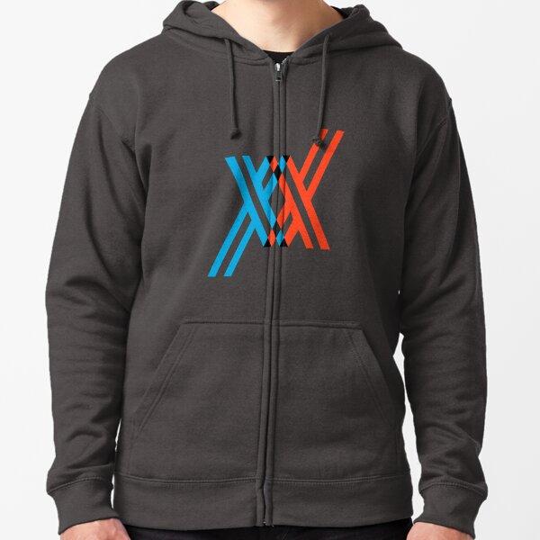 DARLING dans le FRANXX Veste zippée à capuche