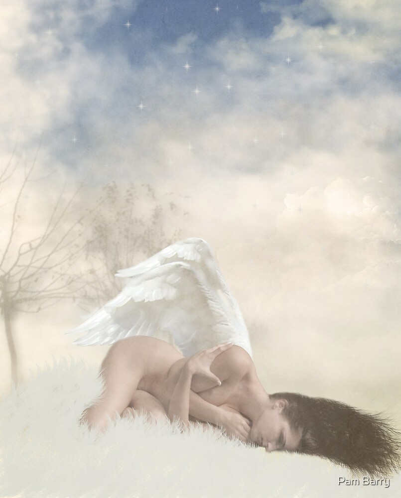 Sleeping Angel by Pam Barry