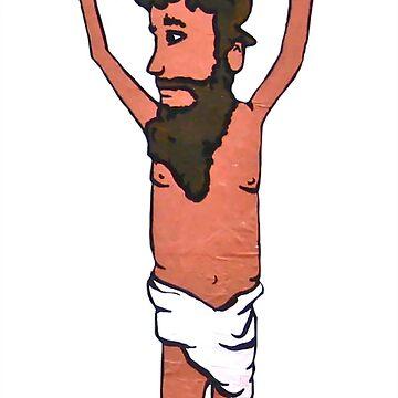 Jesus by kokinoarhithi