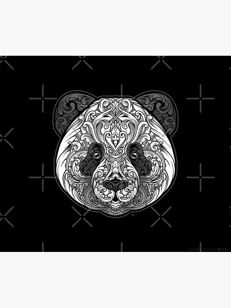 Ornate Panda by angoes25