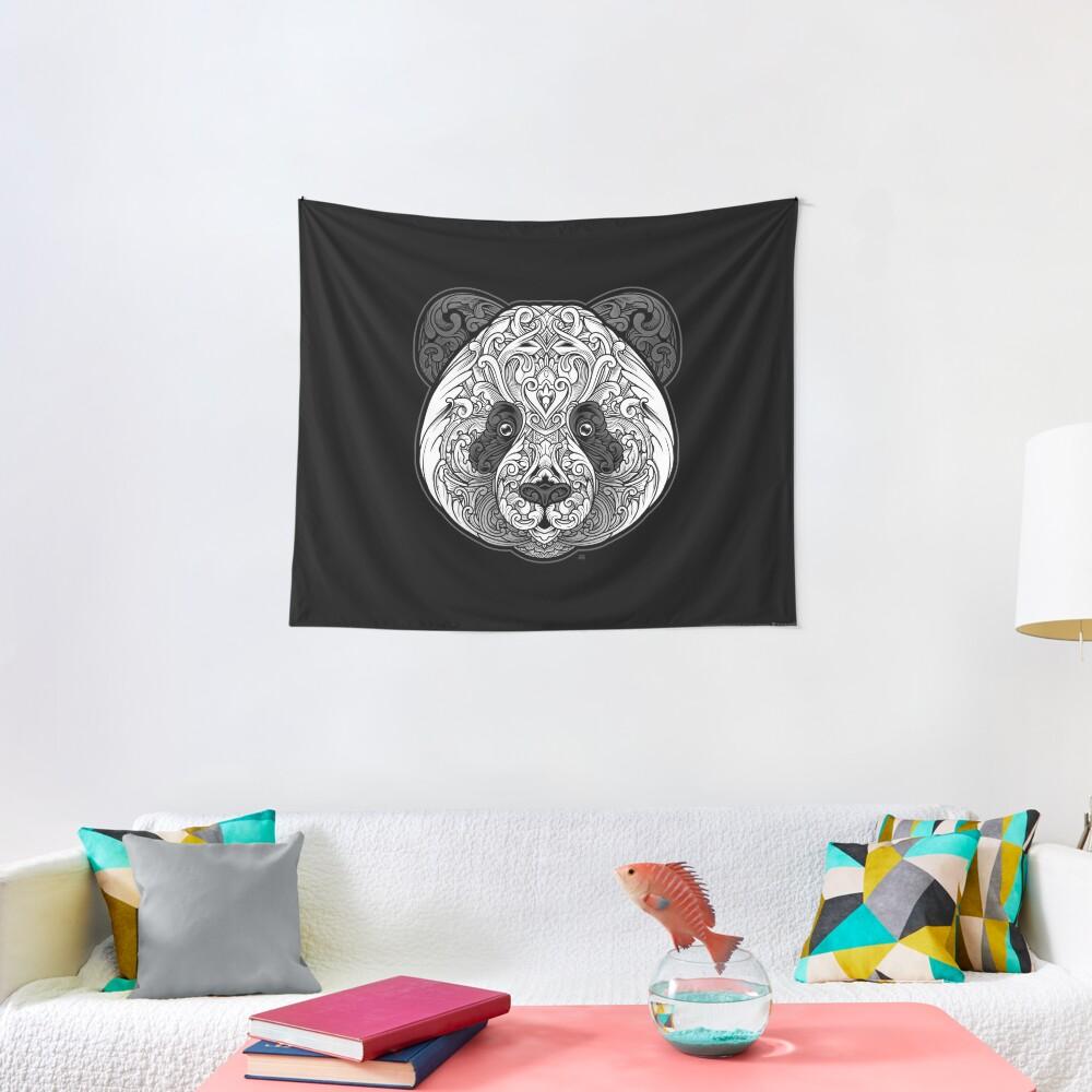 Ornate Panda Tapestry