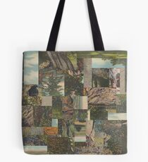 Tree Points Drop Tote Bag