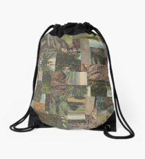 Tree Points Drop Drawstring Bag