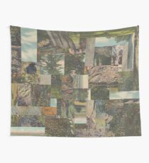 Tree Points Drop Wall Tapestry