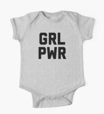 GRL PWR GIRL POWER  One Piece - Short Sleeve