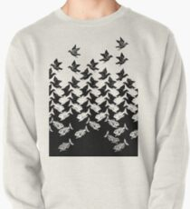 Fish and Birds Art Deco Tessellation Pullover