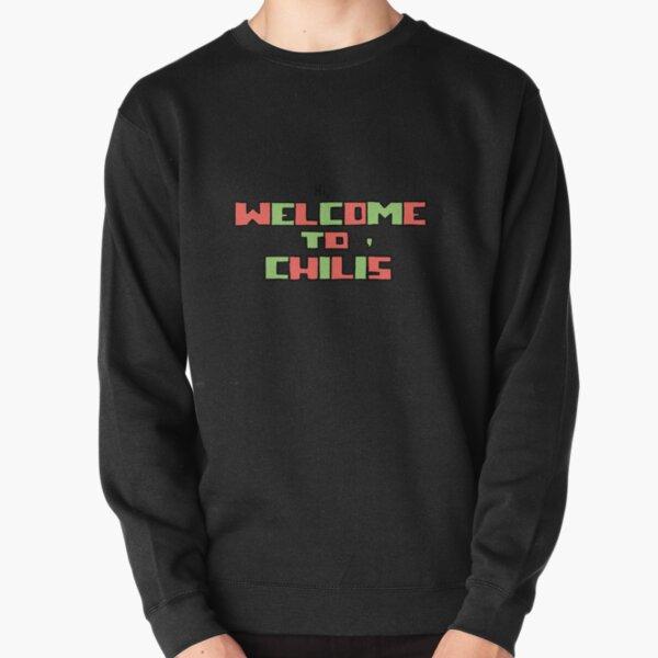 hi, welcome to chili's  Pullover Sweatshirt