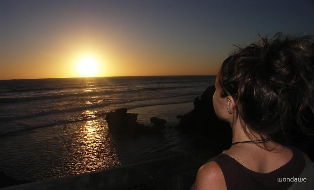Bass Strait Sunset by wondawe
