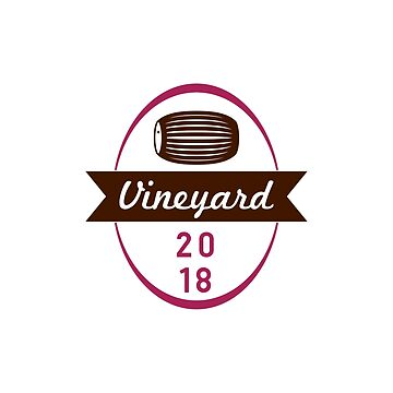 Vineyard 2018 Simple Label by Krukowski