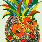 Funky Pineapple by Lisafrancesjudd