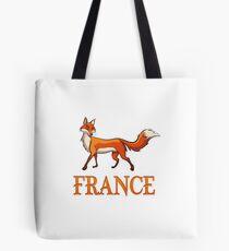 France Fox Tote Bag