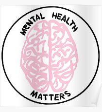 Psychische Gesundheit Poster