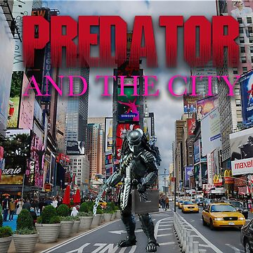 Predator and the City by brittanyik