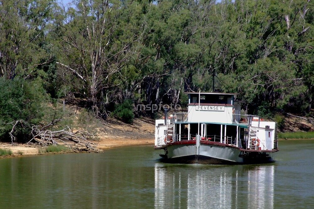 River Boat by mspfoto