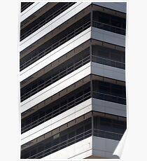 IBM office building detail Poster