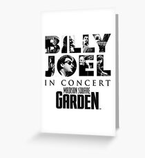 billy joel madison square ketan Greeting Card