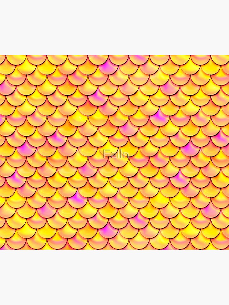 Yellow Pink Scales by Falln