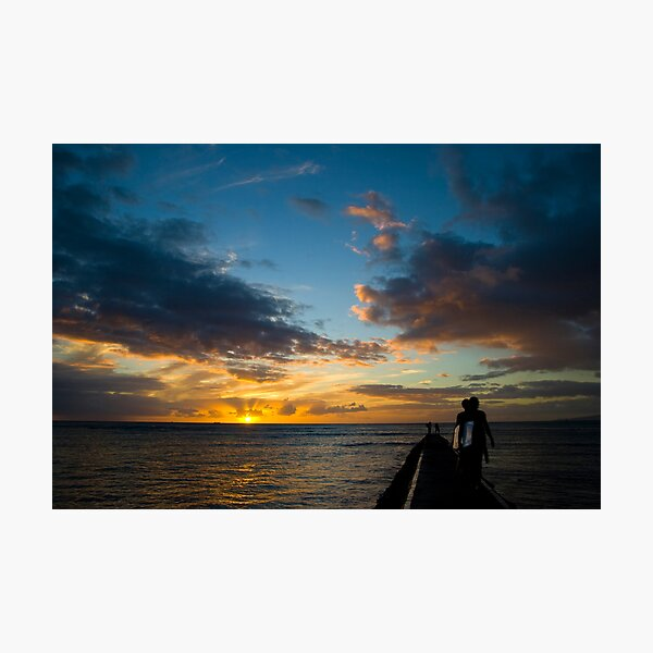 Honolulu, Hawaii Photographic Print