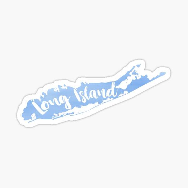 Long Island Blue Watercolor Sticker