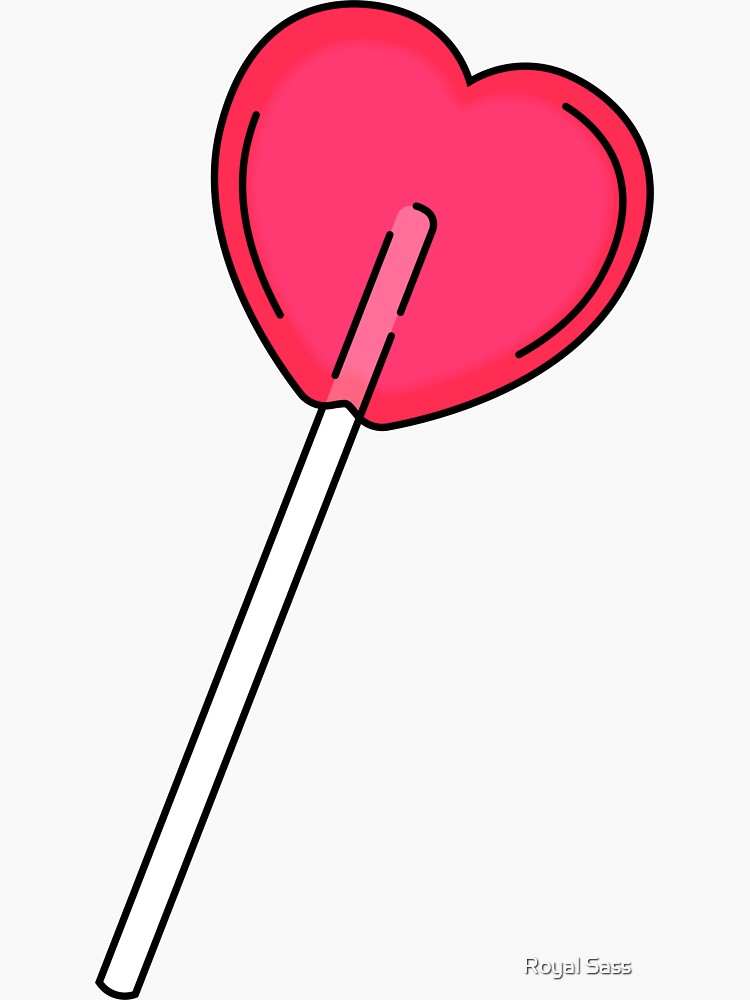 Heart Lolly by theroyalsass