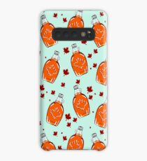 Super Canadian Maple Syrup Pattern Case/Skin for Samsung Galaxy