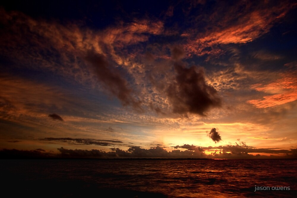 sun set.. by jason owens