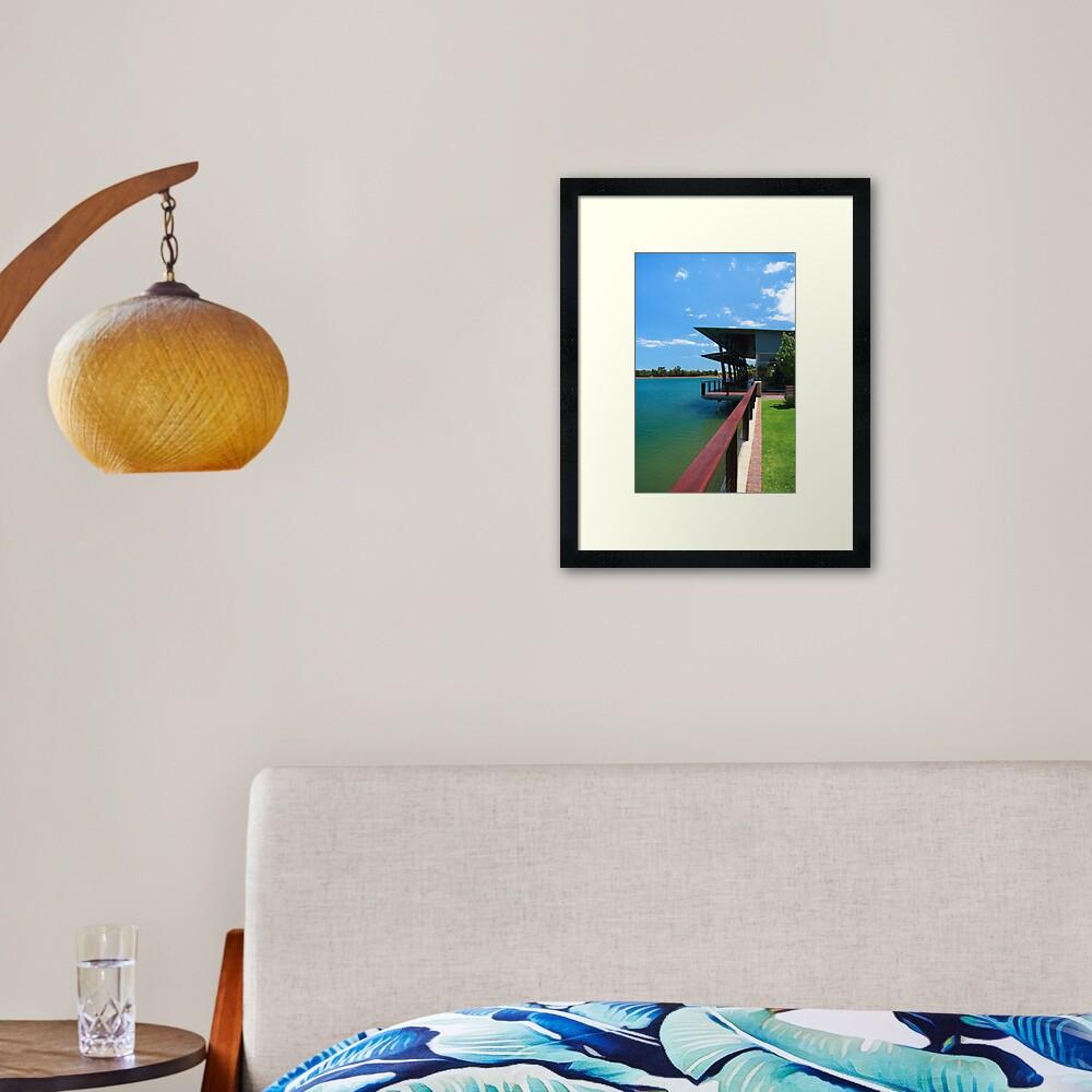 Saracen Estates / Duckstein Brewery Framed Art Print