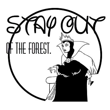 Stay Out of the Forest by Pegasaurus-Rex