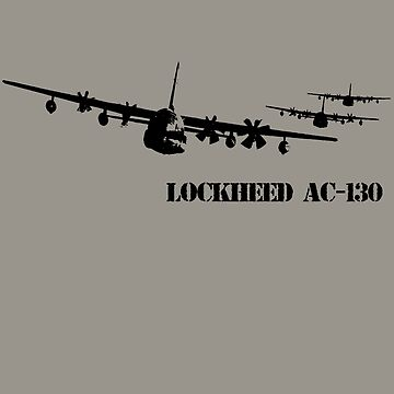 Lockheed AC-130 spectre by hottehue